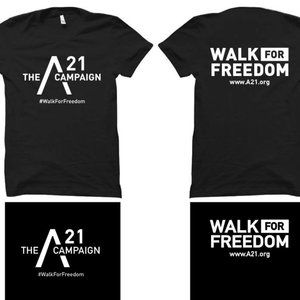 A21 Walk for Freedom T-Shirt